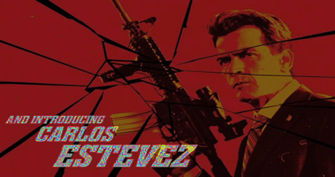Charlie Sheen is Carlos Estevez
