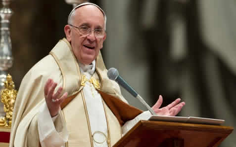 Pope Francis Calls For 'Appropriate Action'